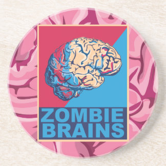 Cerebro del zombi posavasos para bebidas