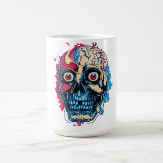 Cerebro del zombi taza de café