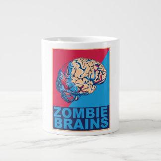 Cerebro del zombi taza de café gigante