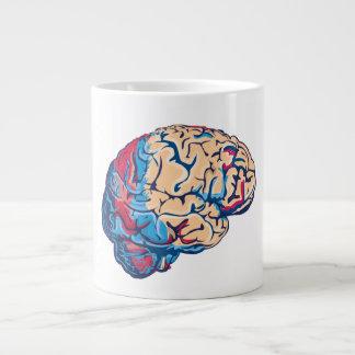 Cerebro del zombi taza de café grande