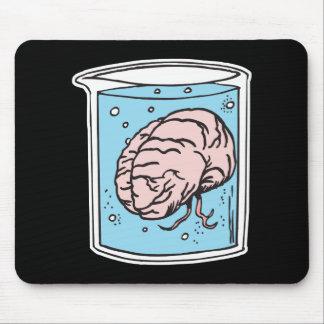 cerebro en un tarro tapete de ratón