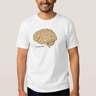 Cerebro humano: ¡Analice esto! Camisas