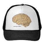 Cerebro humano: ¡Analice esto! Gorras