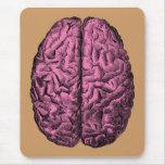 Cerebro humano de la anatomía alfombrillas de raton
