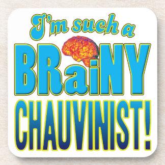Cerebro inteligente chauvinista posavaso