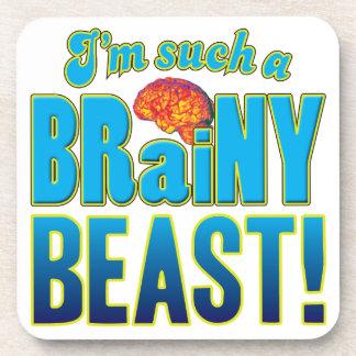 Cerebro inteligente de la bestia posavaso