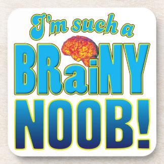 Cerebro inteligente de Noob Posavasos De Bebidas