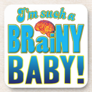 Cerebro inteligente del bebé posavasos de bebida