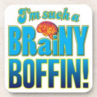 Cerebro inteligente del Boffin Posavasos De Bebidas