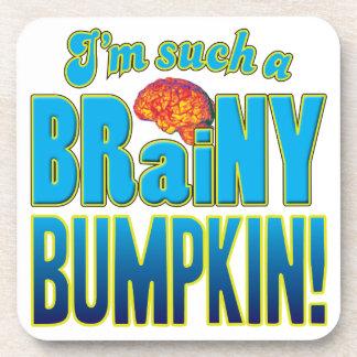 Cerebro inteligente del Bumpkin Posavasos De Bebidas