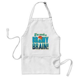 Cerebro inteligente del cerebro delantal