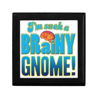 Cerebro inteligente del gnomo caja de recuerdo