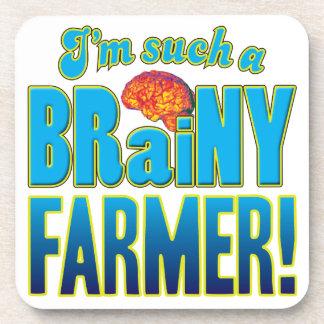Cerebro inteligente del granjero posavaso