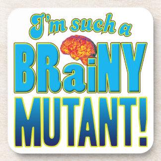 Cerebro inteligente del mutante posavasos
