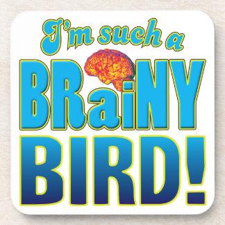Cerebro inteligente del pájaro posavasos de bebidas