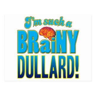 Cerebro inteligente del tonto postal