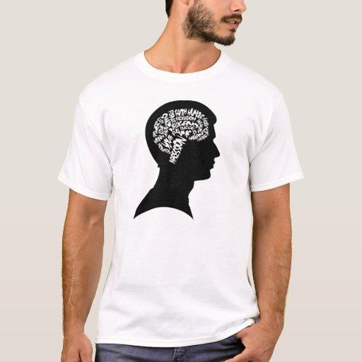 Cerebro interior playera