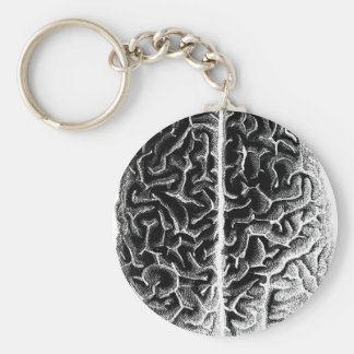 Cerebro Llavero Redondo Tipo Pin