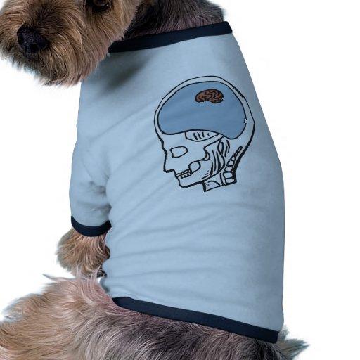 Cerebro minúsculo camisa de mascota