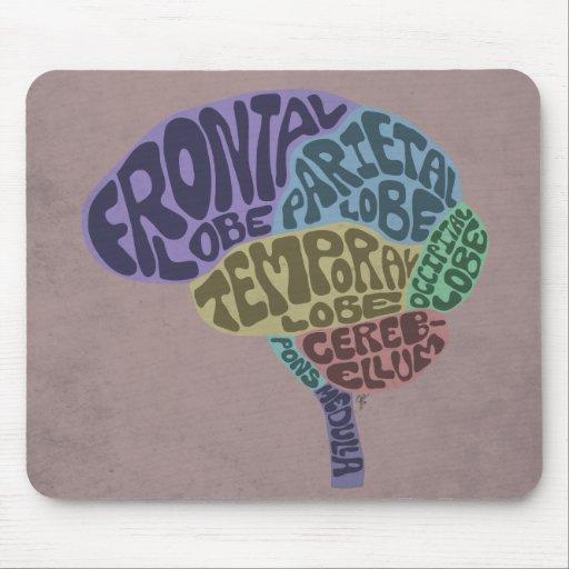 Cerebro Mousepad Alfombrillas De Ratones