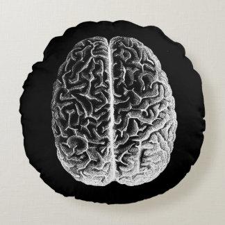 ¡Cerebros! Cojín Redondo