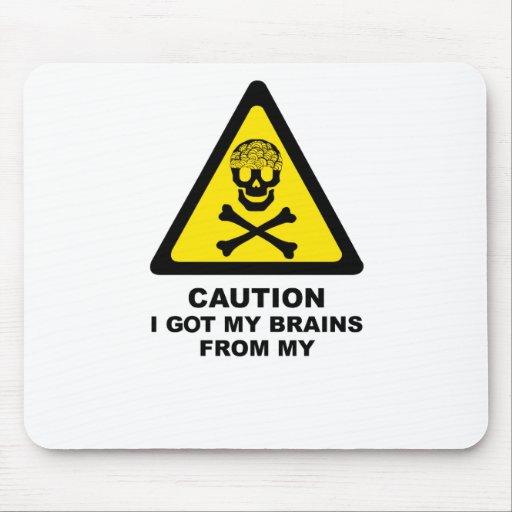 cerebros conseguidos alfombrilla de ratones