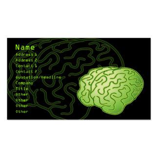 ¡Cerebros conseguidos! Tarjetas De Visita