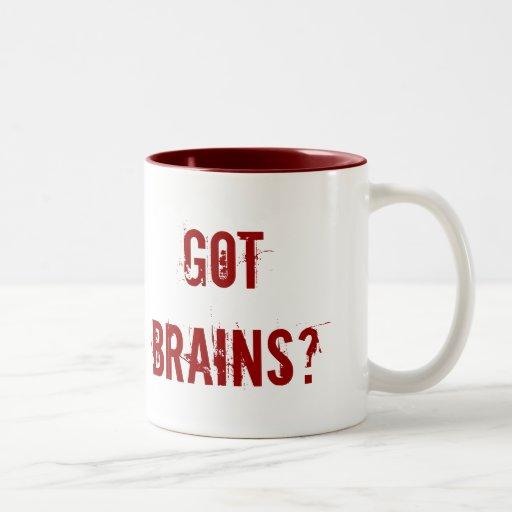 ¿Cerebros conseguidos? Tazas