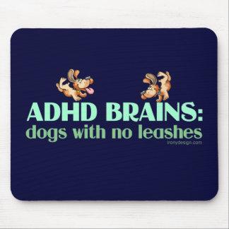 CEREBROS DE ADHD TAPETES DE RATÓN
