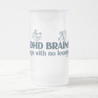 CEREBROS DE ADHD TAZA DE CRISTAL