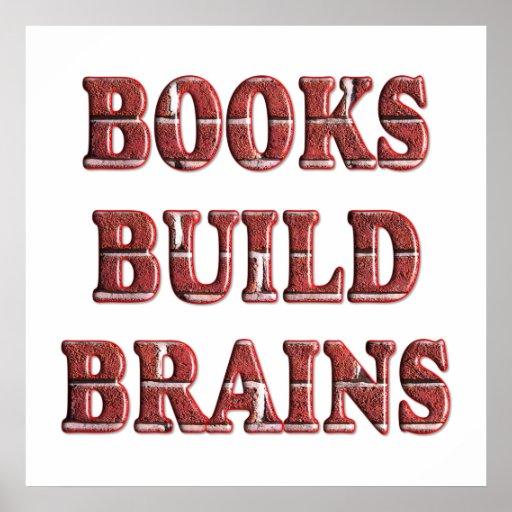 Cerebros de la estructura de los libros - comenzan póster