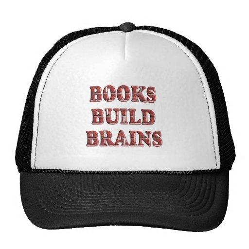 Cerebros de la estructura de los libros gorro