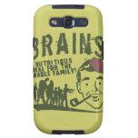 ¡Cerebros! Galaxy S3 Fundas