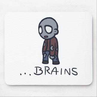 Cerebros Mousepad del zombi