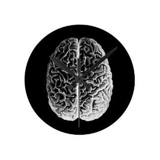 ¡Cerebros! Reloj Redondo Mediano