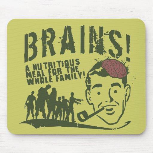 ¡Cerebros! Tapetes De Raton