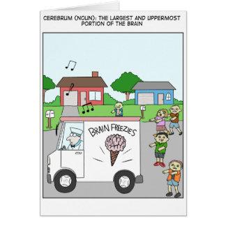 Cerebrum Logoons Greeting Card