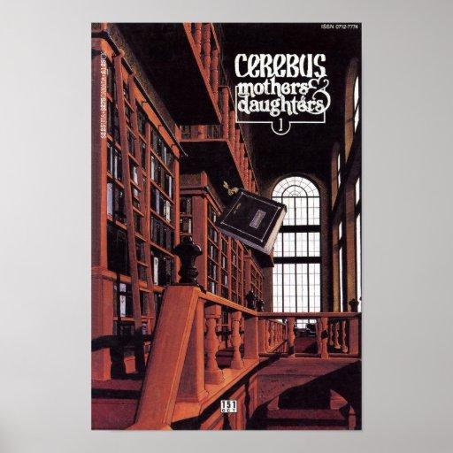 Cerebus issue #151 cover print