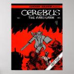 Cerebus Issue #1 cover print