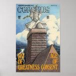 Cerebus issue #67 cover poster