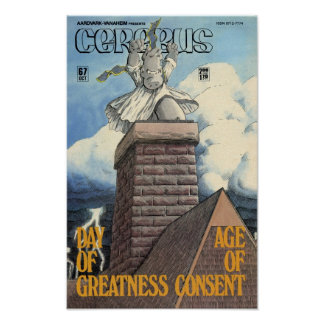 Cerebus issue #67 cover poster