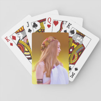 Cerelia, Goddess of Autumn Playing Cards