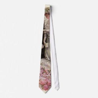 Ceremonia de boda del Victorian del vintage, novio Corbata Personalizada