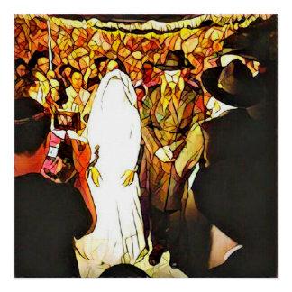 Ceremonia de boda judío perfect poster
