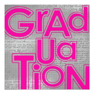 Ceremonia de graduación y fiesta Annoucements Comunicados