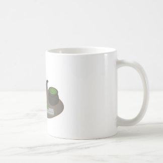 Ceremonia de té japonesa taza básica blanca