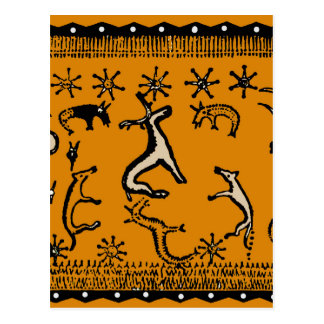 Ceremonia ritual pagana tarjetas postales