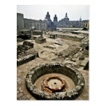 Ceremonial Area Of Templo Mayor, Mexico City Postcard
