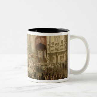 Ceremonial reception of Field-marshal Two-Tone Coffee Mug