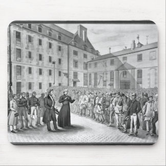 Ceremony before the departure of the convicts mouse pad